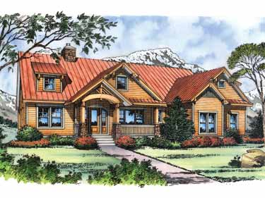 Download this Craftsman House Plans picture