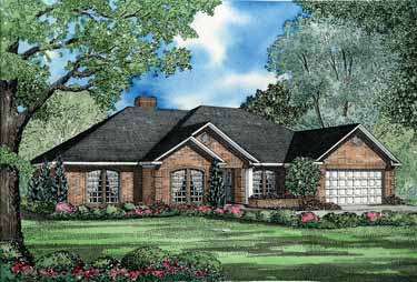 Ranch House Plans and Ranch Designs at BuilderHousePlans.