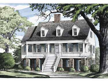 Georgian House Plans And Georgian Designs At
